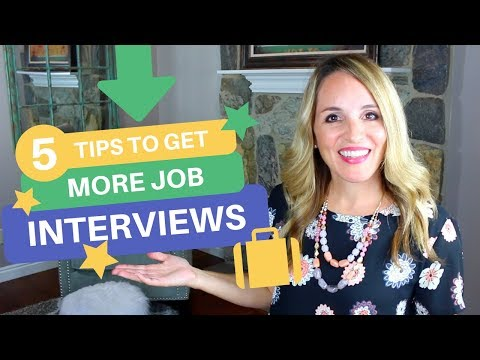 How To Get A Job Interview Fast - 5 Tips To Get More Job Interviews
