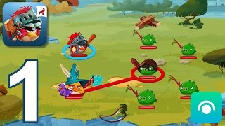 Angry Birds Epic RPG - Gameplay Walkthrough Part 1 - South Beach, Cobalt Plateaus (iOS, Android)