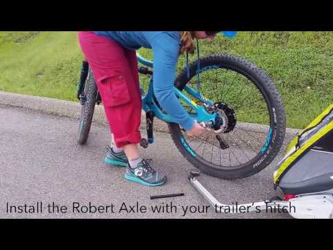 Installing and Using a Kid Trailer Thru Axle is Easy!