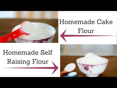 How to Make Cake Flour and Self Raising Flour at Home