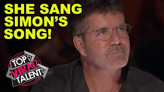 SIMON COWELL'S FAVOURITE SONG - BUT Will He Like Her Performance On Got Talent?!