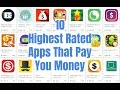10 Highest Rated Apps That Pay You Money