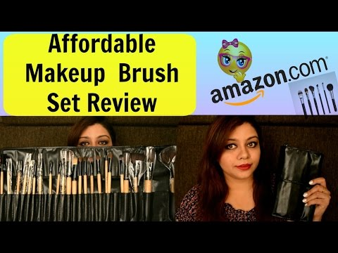 Affordable 24 PC Makeup Brushes Makeup Brush Set from Puna Store Review + Demo | Nailzfashionista