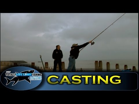 Long distance beach casting tips - The Totally Awesome Fishing Show