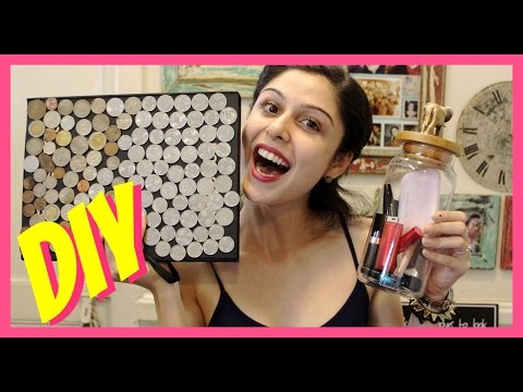 DIY|| Makeup Storage & Organization Ideas!!!