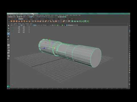 Maya 2016 - Quick build Lightsaber