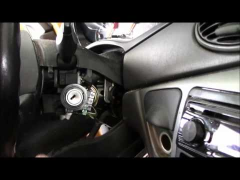 2001 Ford Focus Ignition Lock Cylinder Part 1 -- Removal
