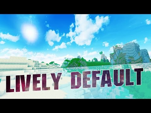 Minecraft Resource Pack - LIVELY DEFAULT! (Greener Grass, Custom Sky, Clear Water) 1.8 / 1.7 / 1.8.9