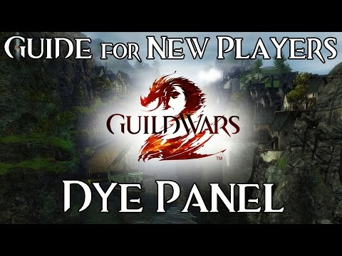 Dye Panel - Guide for New Players - Guild Wars 2 Cosmetics