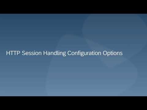 SAP Cloud Platform Integration:  HTTP Session Handling