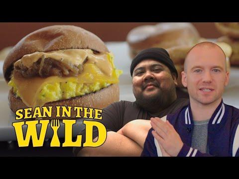 Breakfast Sandwich Taste-Test with Eggslut's Alvin Cailan | Sean in the Wild