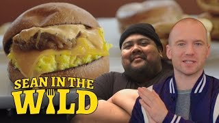 Download Breakfast Sandwich Taste-Test with Eggslut's Alvin Cailan | Sean in the Wild Video