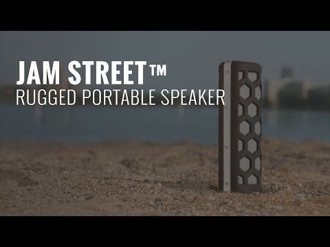 JAM Street™ Rugged Portable Speaker