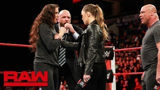 Ronda Rousey gets her WrestleMania match: Raw, March 5, 2018