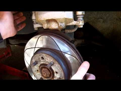 How to change front brake rotors 2001-2005 Honda Civic