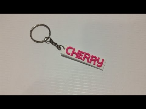 How To Make Personalized Polyclay Name Keychain - DIY Style Tutorial - Guidecentral