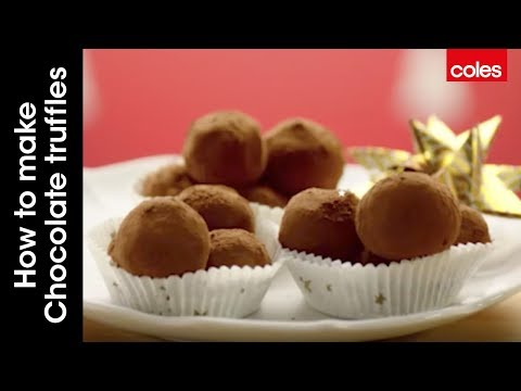 How to make chocolate truffles with Curtis Stone