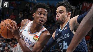 Memphis Grizzlies vs Oklahoma City Thunder - Full Game Highlights | October 16, 2019 NBA Preseason