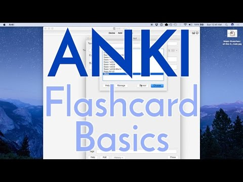 How to Use Anki Effectively - Flash Card Basics for Pre-Med and Med Students [Part 1]
