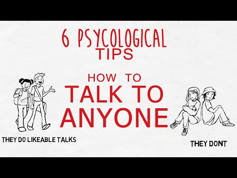 (HINDI) 6 PSYCHOLOGICAL TIPS - HOW TO TALK TO ANYONE