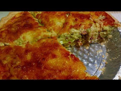 Easy Bacon Leek Quiche Recipe