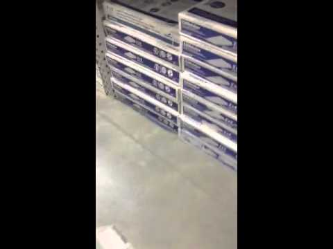Fluorescent light covers at Lowes