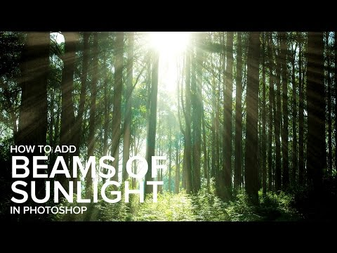 How to Add Beams of SunLight in Photoshop