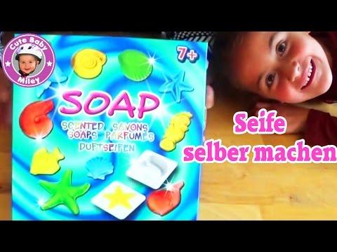 Seife selber herstellen - How to make your own Soap DIY - Kanal für Kinder