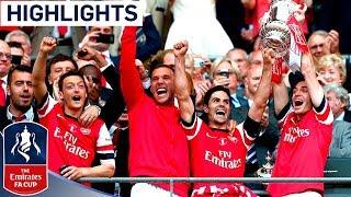 Arsenal vs Hull City - FA Cup Final 2014 | Goals & Highlights