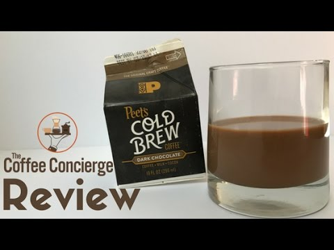 Peet's Coffee - Dark Chocolate Cold Brew Review