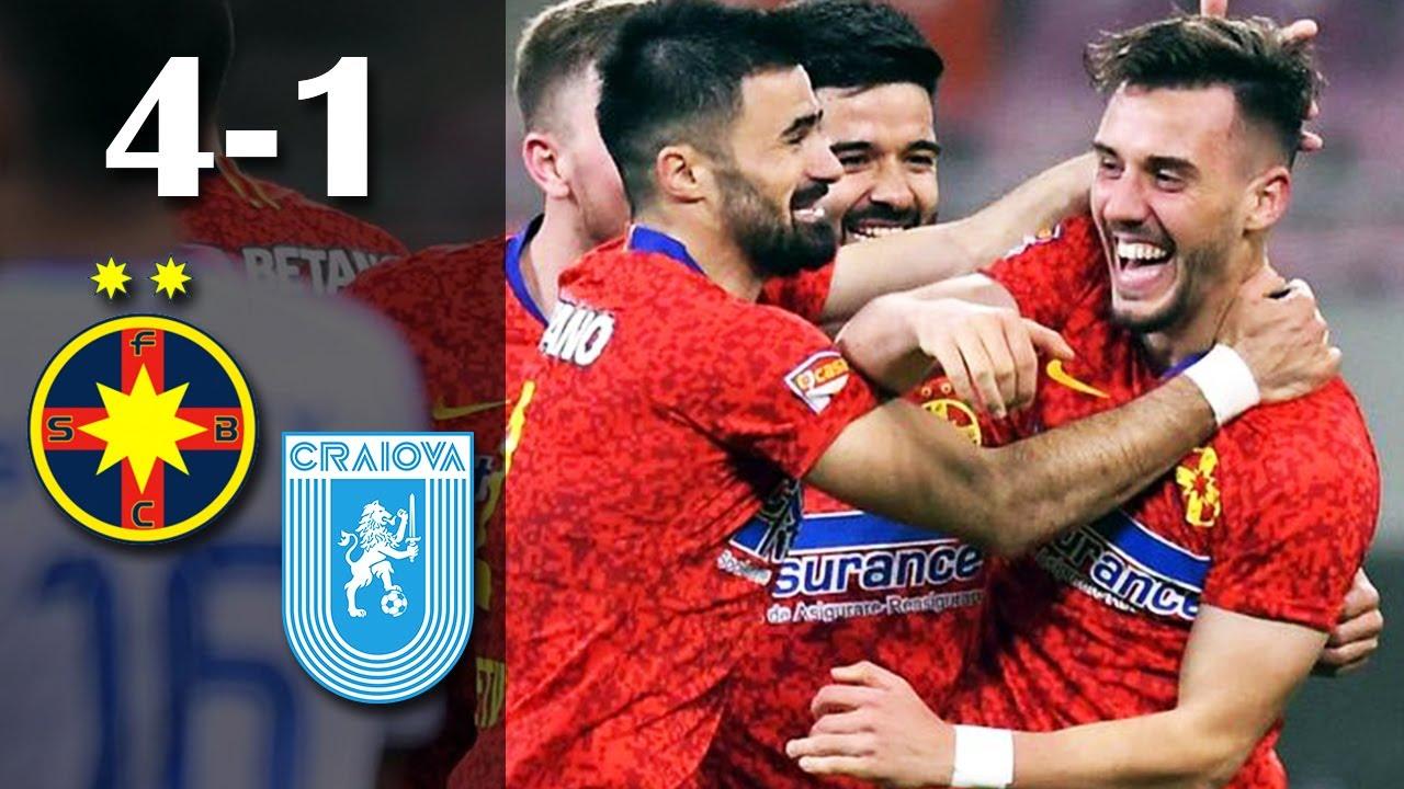 Rezumat: FCSB - U Craiova 4-1 | Greseli mari ale oltenilor | Etapa 2 Play Off