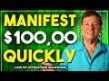 Manifest $100,000 Quickly with Shamanic Tapping
