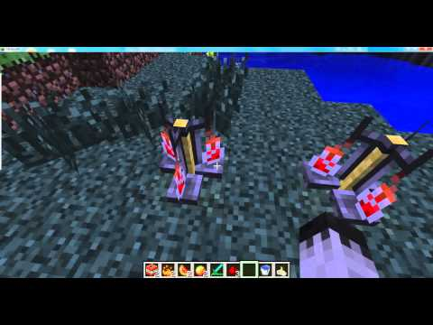 minecraft how to make strength, heal and fire potions!