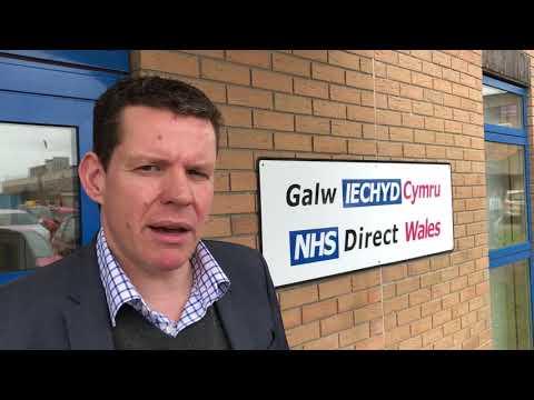 GALW IECHYD CYMRU // NHS DIRECT WALES