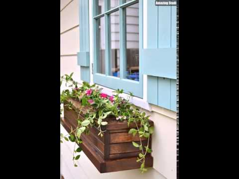 DIY Window Box Planters