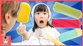 Johny Johny Yes Papa 과일 vs 아이스크림 팔아요! 마법 아이스크림 카트 도와주기 ♡ 인기 동요 영어 장난감 놀이 toys | 말이야와아이들 MariAndKids