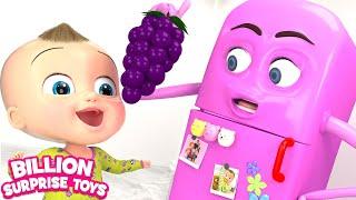 Johny Johny Yes Papa - REFRIGERATOR Remix | 3D Baby Nursery Rhyme & Kids Songs