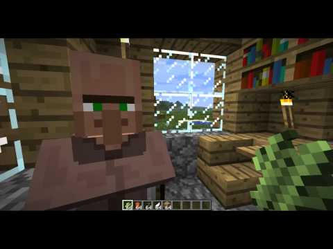 Minecraft How To Make Paper, Book, Bookshelf, Book and Quill