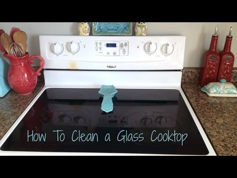How To Clean A Glass Cooktop Stove
