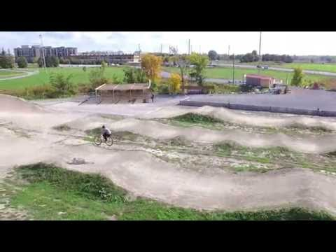 Nepean BMX Track Aerial View