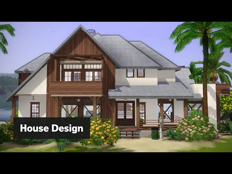 Modern Beach House | The Sims 3 House Building