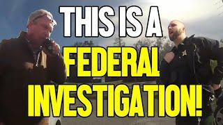 DEPUTY ARRESTS FBI AGENT AFTER STRANGE MEETING