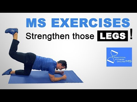 MS Exercises   Leg Exercises   Strengthen Legs With Multiple Sclerosis