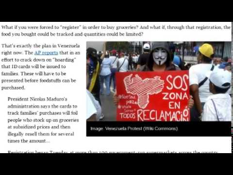 Venezuela Enforces Fingerprint Registry to Buy Groceries