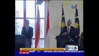 PELABUR MALAYSIA DIPELAWA BANGUN INFRASTRUKTUR DI INDONESIA - JOKOWI  6 Feb 2015