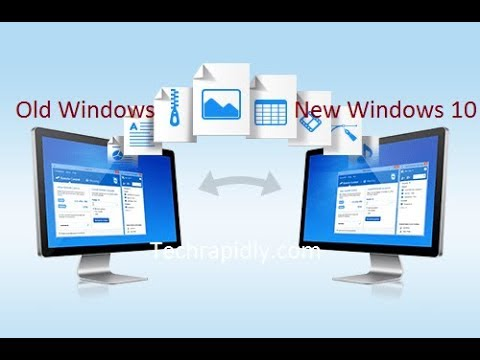 How to transfer your files to new Windows 10 easily without any Software