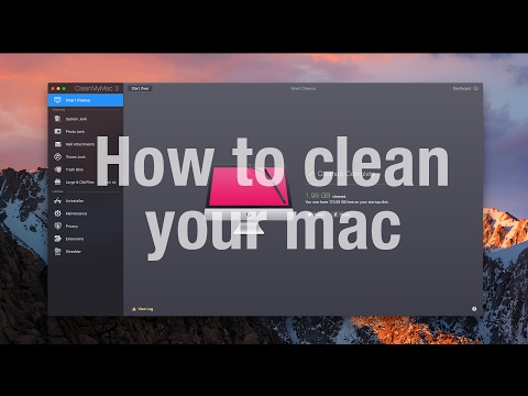 How to clean your Mac