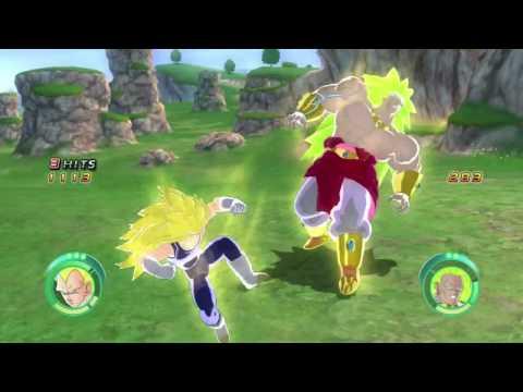 Dragon Ball Raging Blast What If: The Strongest Super Saiyan 3