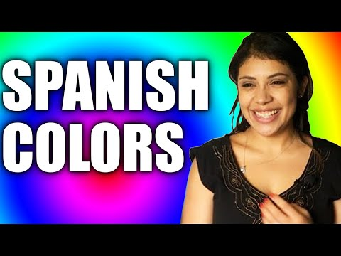 Basic Spanish Lessons: The Colors In Spanish