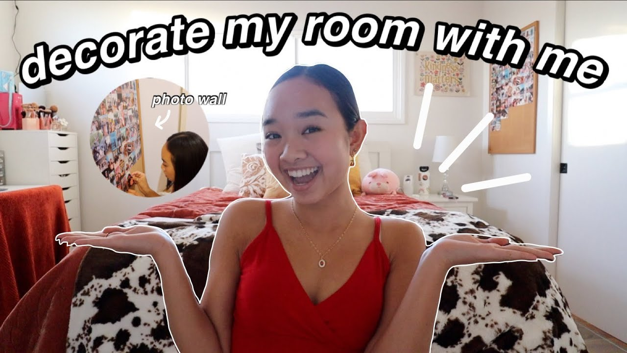 DECORATE MY NEW ROOM WITH ME (moving ep. 3) | Nicole Laeno